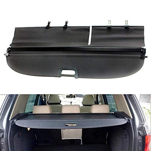 TBVECHI Cargo Cover Retractable Black Luggage Cargo Cover Security Rear Trunk Shielding Fit for Volkswagon VW Tiguan 2009-2015
