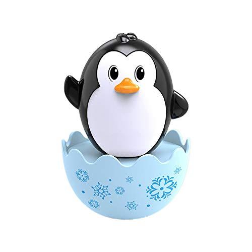 Stehauffigur Pinguin Baby- und Kleinkindspielzeug Motorikspielzeug Stehaufpuppe Stehaufffigur Tumbler Roly-Poly-Tumbler