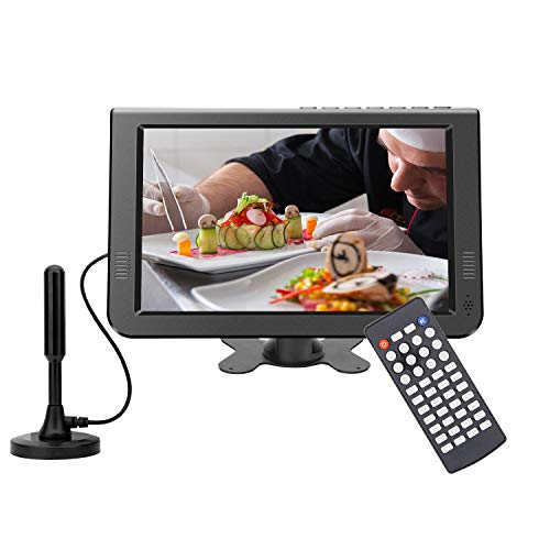 "GJY 10.1"" Portable LCD TV with Detachable Antennas"