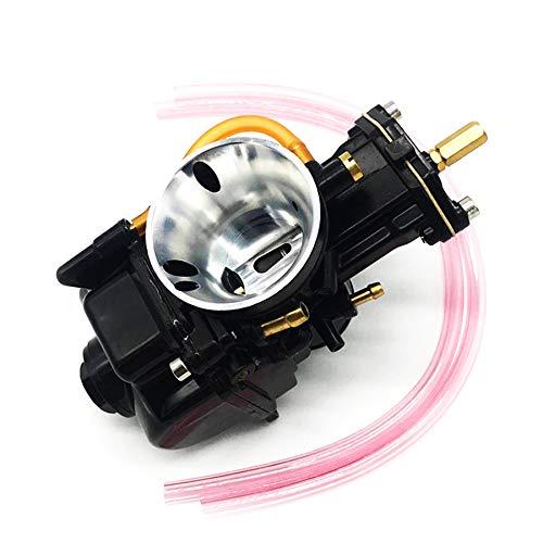 love lamp Carburador Carburador de Diapositivas Planas de 28 mm Compatible con Scooter ATV 2 Ciclo de Carrera 80cc 100cc 125cc 250cc 350cc Engine
