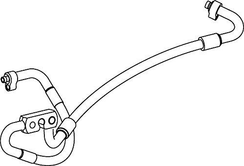 BEHR HELLA SERVICE 9GS 351 337-061 *** PREMIUM LINE *** Hochdruckleitung, Klimaanlage, von Klimakompressor nach Kondensator