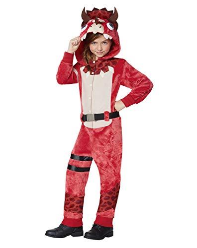 Girls Fortnite Plush Tricera Ops Costume   Officially Licensed