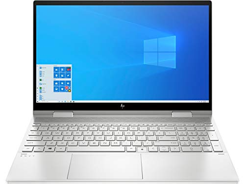 CUK Envy x360 15t 15 Inch Touch Business Laptop (Intel Core i7, 16GB RAM, 512GB NVMe SSD, 15.6' FHD IPS Touchscreen, Windows 10 Pro) Professional Notebook Computer (Made_by_HP)