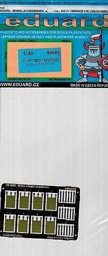 Entrega directa y rápida de fábrica EDU49666 1 48 Eduard Eduard Eduard Color PE - H-34 Choctaw Cargo Seatbelts (for use with the Gallery kit) MODEL KIT ACCESSORY by Eduard  oferta especial