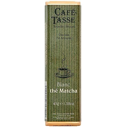 カフェタッセ 抹茶ホワイト チョコレート  45g×15個【沖縄は一部送料負担あり】