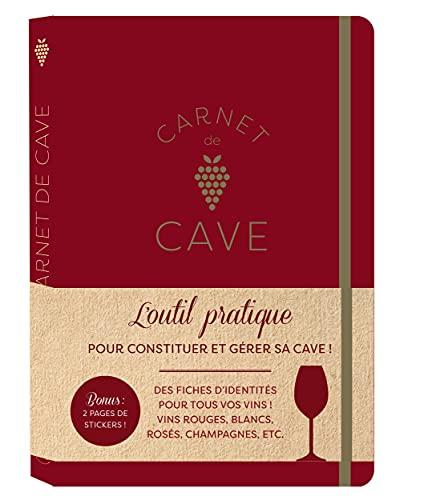 Carnet de cave tout pour suivre et gérer votre cave à vin (CARNETS PRATIQUES MEMONIAK)