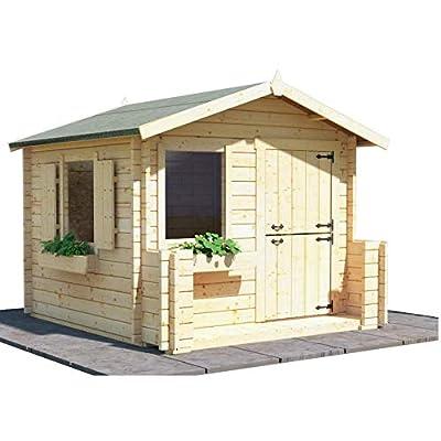 BillyOh Log Cabin Wooden Playhouse 28mm