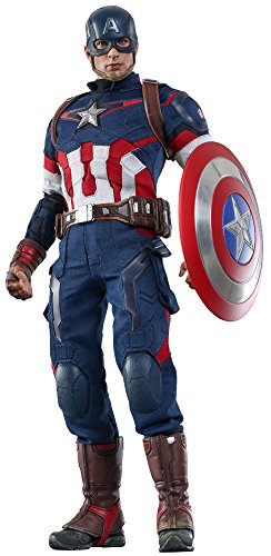 Hot Toys Action Doll 1:6 Scale MMS281 Avengers Age Of Ultron Captain America