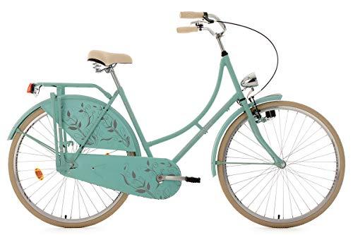 KS Cycling Hollandrad 28'' Tussaud matt-Mint singlespeed RH 54 cm