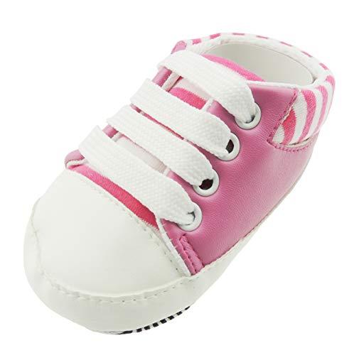 Glamour Girlz , Chaussures premiers pas pour bébé (fille) rose rose 3-6 mois