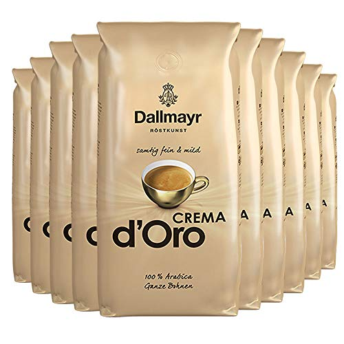 Dallmayr Crema D'oro Samtig Fein & Mild - Ganze Bohne 10 Kg