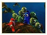 H/M Cartoon Findet Nemo Poster Digitales Ölgemälde DIY