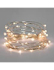 AtneP 30LED 3M Silver Lights Wire USB for Home Decoration