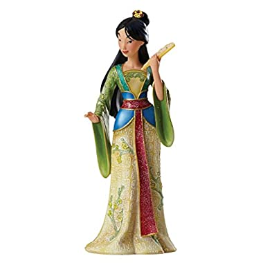 Jim Shore for Enesco Enesco Disney Showcase Couture de Force Mulan Stone Resin Princess Figurine