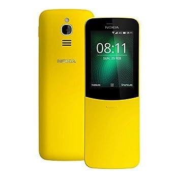 Nokia 8110  TA-1059  512MB/4GB 2.45-inches Factory Unlocked International Stock  Yellow
