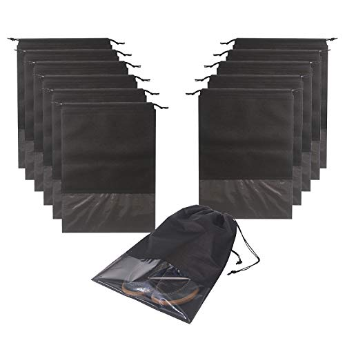12PCS Travel Shoe Bags Non-Woven Storage...