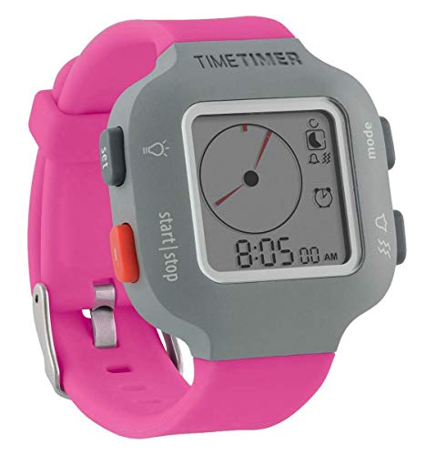Time Timer Armbanduhr Plus Junior, Farbe pink.