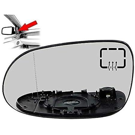 Carjoy 650630 Außenspiegel Beheizbar Glas Spiegelglas Links Fahrerseite Für A Klasse W168 98 04 Oem A1708100121 Auto