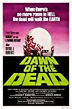 Dawn of The Dead - George A Romero – Movie Wall Poster