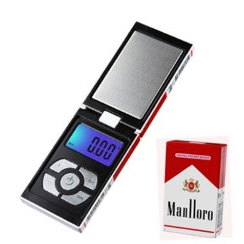MANLLORO CIGARETTE PACK DIGITAL POCKET SCALE