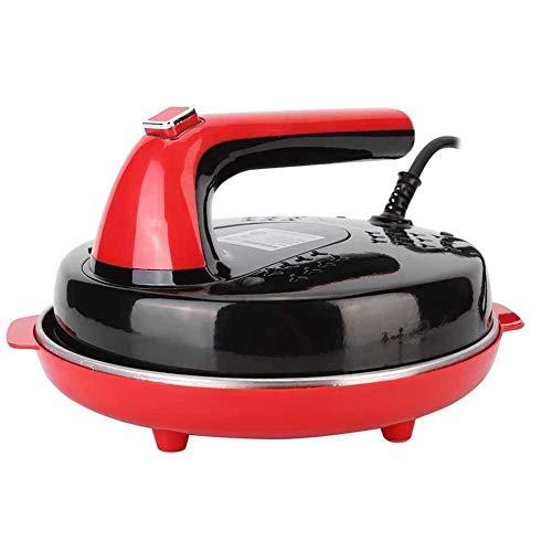 Dongbin Elektrische Pfannkuchenmaschine, Automatische Antihaft-Haushaltskuchen Frühlingsrolle Haut Bratpfanne Elektrische Bratpfannenmaschine Crêpe Maker Tool Für Perfekte,Rot