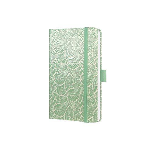 SIGEL J0304 Wochenkalender Jolie 2020, ca. A6, grün, Schmetterlingsmuster - weitere Modelle