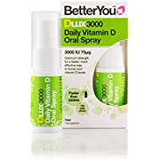 BetterYou D Lux 3000 Oral Vit D3 Spray - 15ml (Pack of 3)