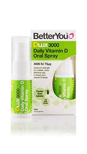 BetterYou DLux3000 Vitamin D3 Oral Spray