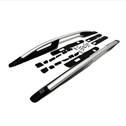 GYYY Aleación de Aluminio de Las Barras de Techo Plateado for Honda CRV 2007 2008 2009 2010 2011 baca (Color : Black)