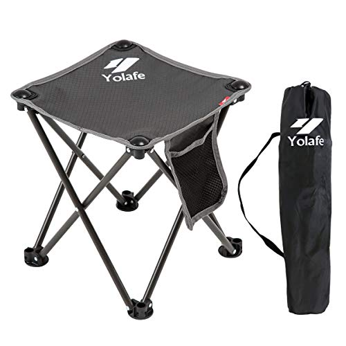 Small Folding Camping Stool Lightweight Chairs Portable Seat...