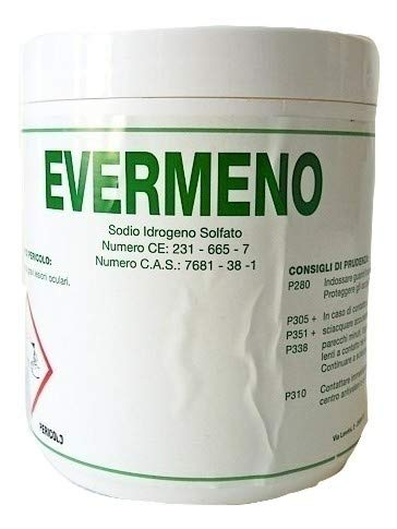 Ácido granulado para minipiscinas y SPA-EVERMENO 1 kg