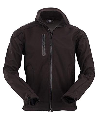 Eurowear Men Soft Shell Jacket Nero - EM602