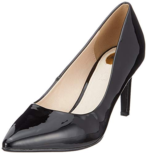 Buffalo Damen Alivia Pumps, Schwarz (Black 000), 38 EU