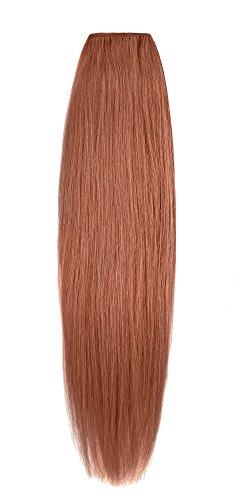 American Dream original de qualité 100% cheveux humains 45,7 cm soyeuse droite trame Couleur MP67 – Cuivre Léger