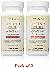 Mosbeau Placenta White Advanced Supplement for Skin Whitening 2015 Japan Patented Twice As Effective As Glutathione (120 Tablets) (2)