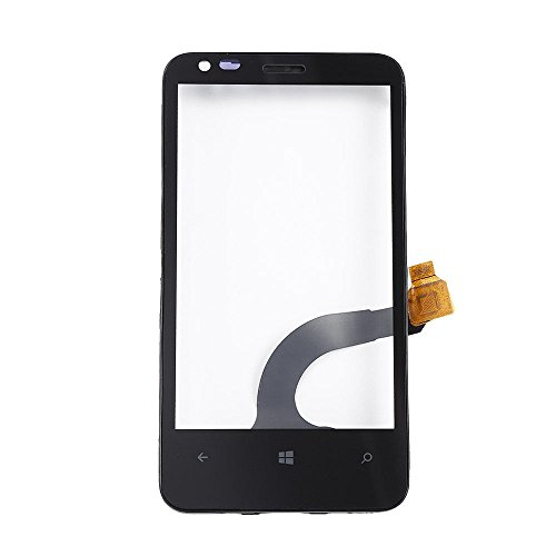 Display Touch Screen Digitizer Glass for Nokia Lumia 620 with Front Frame