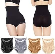 Pilot-Trade 4-Pack High Waist Underwear 20s Dress's Body Shaper Control Thermal Panties S-XL