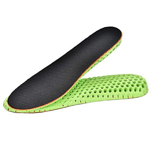 ToMoYi Memory Foam Höhe Erhöhen Schuhe Einlegesohle Atmungsaktiv Erhöhung Einlegesohle Taller Pad Schuherhöhung 1,5-2,5CM Höhe Erhöhung Unsichtbar erhöhte Heel Einlegesohlen für Männer & Frauen Unisex