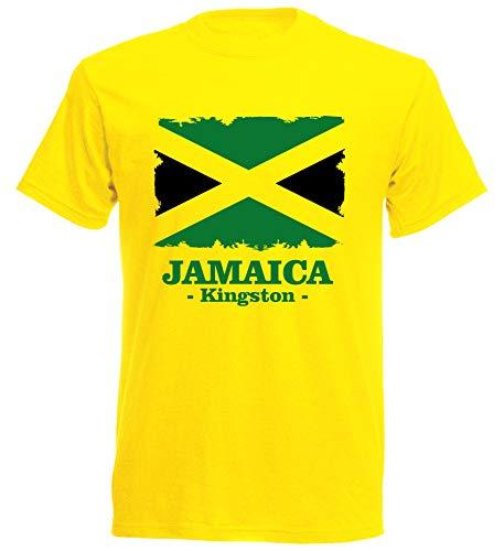 aprom Jamaika T-Shirt Flag 11 GE Kingston (M)