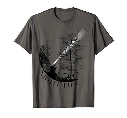 Coon Hunting Night Life - Treed Life Raccoon Hunter T-Shirt