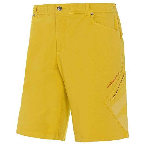 Trango Pant. Bermuda Inca Short Homme, Jaune Curry, XL