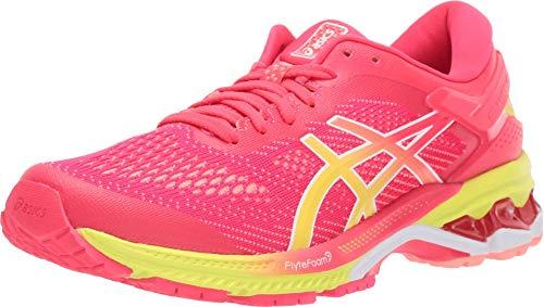 ASICS Women's Gel-Kayano 26 SP Running Shoes, 5, Laser Pink/Sour Yuzu