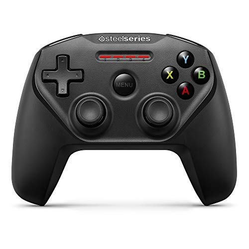 SteelSeries Nimbus - Controlador de Juegos inalámbrico, Bluetooth, 12 Botones, Recargable, (Apple TV/iOS/iPad/iPhone/iPod Touch/Mac), Color Negro