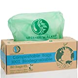 Greener Walker 100% compostable Biodegradable 10L Bolsa Basura Alimentos Cocina Bolsas de basura-150 Bolsas