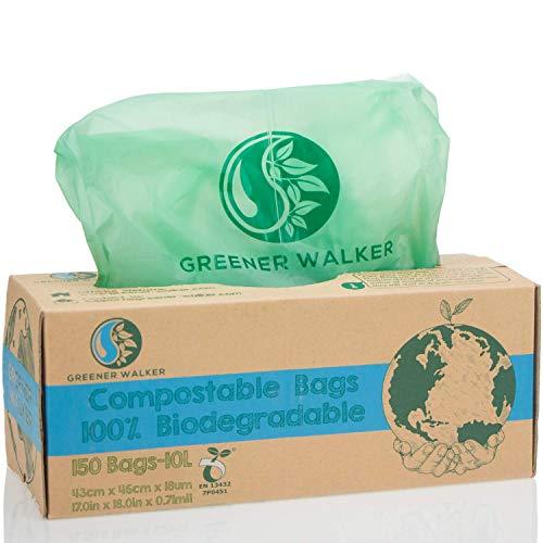 Greener Walker 100% compostable Biodegradable 10L Bolsa