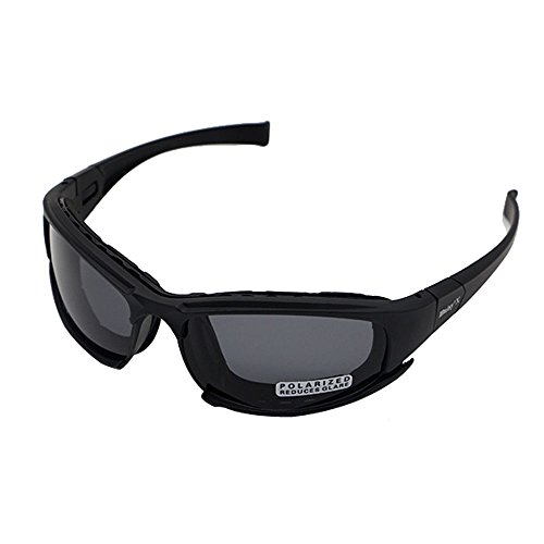 Daisy x7 Polarized Outdoor Tactical Sunglasses Windproof Military 4 Lens Kit Tactical Goggles