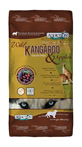Addiction Wild Kangaroo & Apples Grain Free Dry...