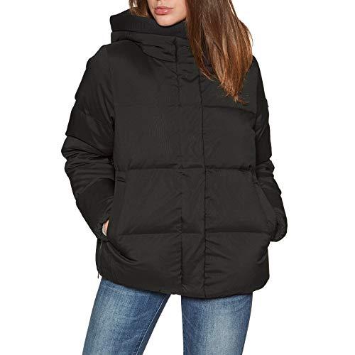 Aigle Nutodi Short Womens Down Jacket UK 10 Reg Noir