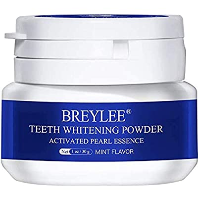 Teeth Whitening Powder BREYLEE Teeth Brightenin...