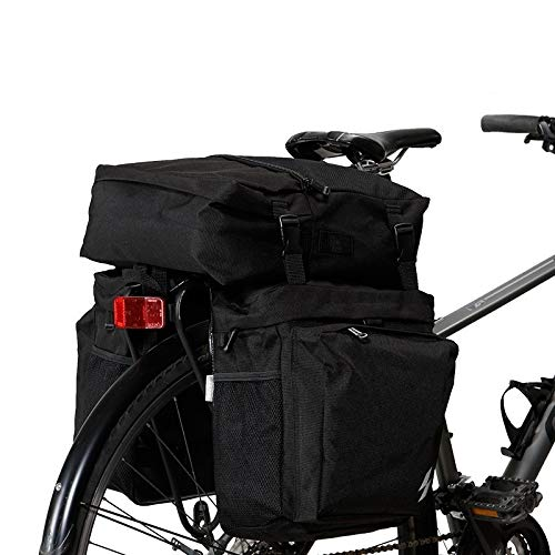 Z-Y Fietstas Waterbestendig berg 3 in 1 Mountain Road fiets Trunk Bags Cycling Double Side bagagedrager Tail Seat #z
